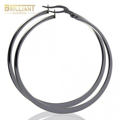 Náušnice Kruhy 3cm - 7cm CHirurgicka ocel