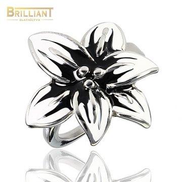 Prsteň Kvet CHirurgicka ocel