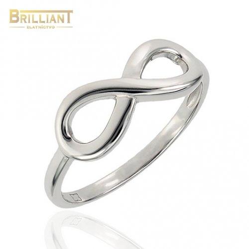 Strieborný prsteň Ag925 infinity - nekonečno
