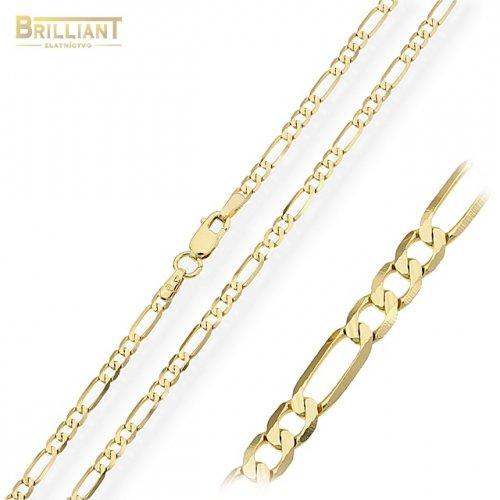 Zlatá retiazka Au585/000 14k Figaro