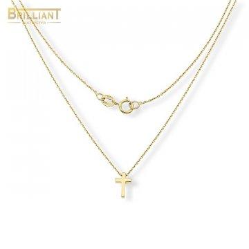Zlatá retiazka Au585/000 14k s krížikom
