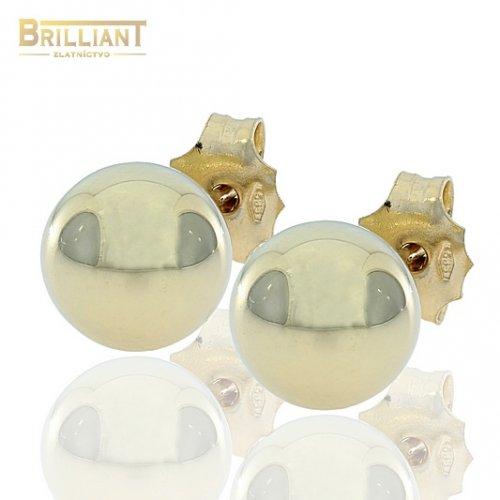 Zlaté Náušnice Napichovacie Au585/000 guličky 0,8cm