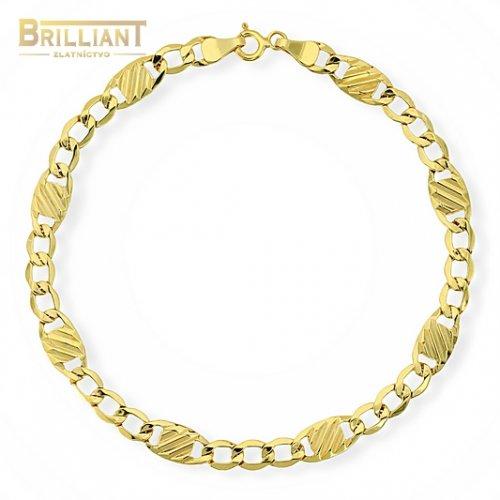 Zlatý náramok Au585/000 14k