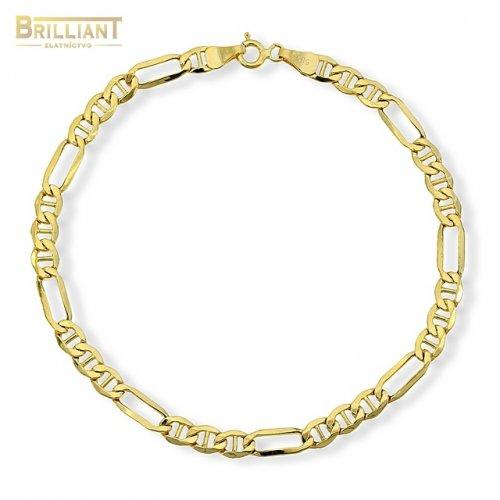 08307e1d7 Zlatý náramok Au585/000 14k Figaro | Najkrajsiesperky.sk