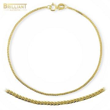 Zlatý náramok Au585/000 14k Líšči chvost - Foxtail