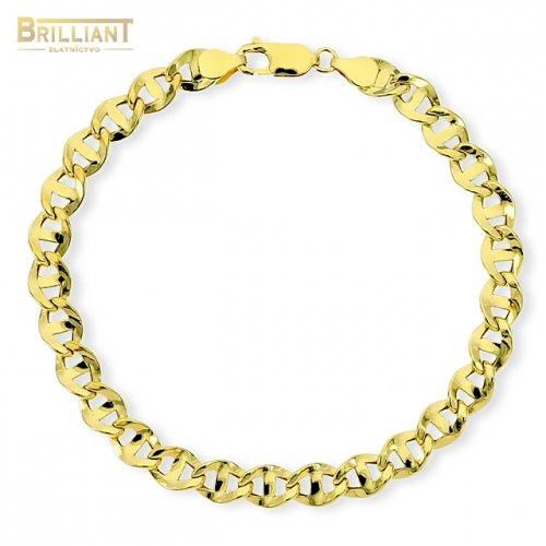 Zlatý náramok Au585/000 14k pánsky