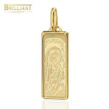 Zlatý prívesok Au585/000 14k Madona