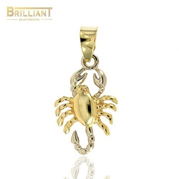 Zlatý prívesok Au585/000 14k znamenie Škorpión