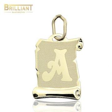 Zlatý Prívesok Au585/000 písmeno A