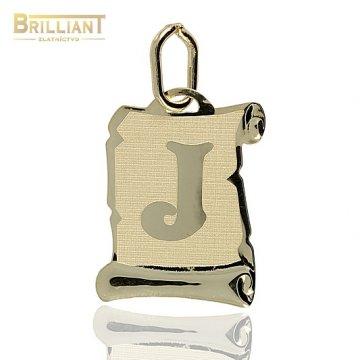 Zlatý Prívesok Au585/000 písmeno J