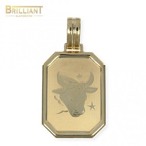 Zlatý Prívesok Au585/000 znamenie Býk