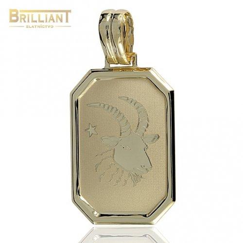 Zlatý Prívesok Au585/000 znamenie Kozorožec