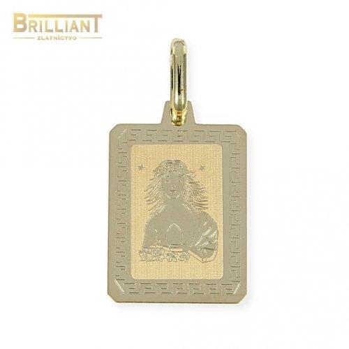 Zlatý Prívesok Au585/000 znamenie Panna