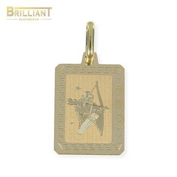 Zlatý Prívesok Au585/000 znamenie Strelec