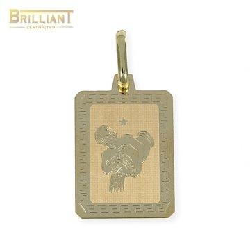 Zlatý Prívesok Au585/000 znamenie Vodnár