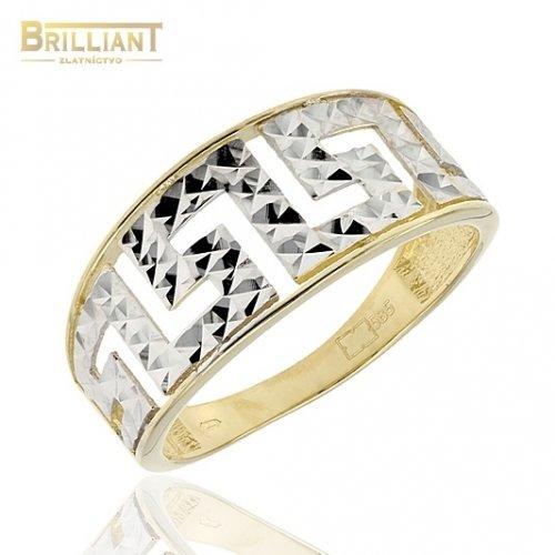 Zlatý prsteň Au585/000 14k