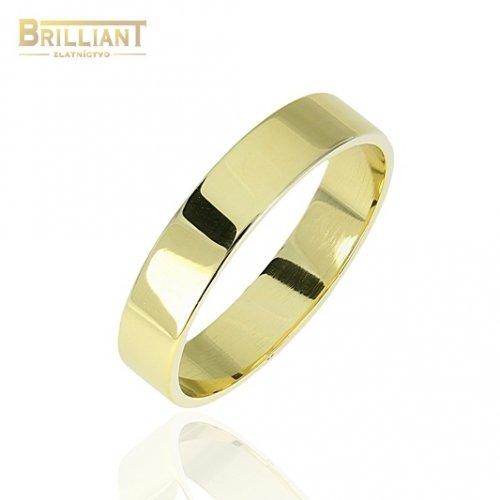 Zlatý prsteň Au585/000 14k Obrúčka
