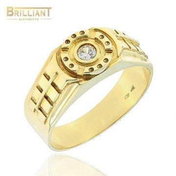 Zlatý Prsteň Au585/000 pánsky